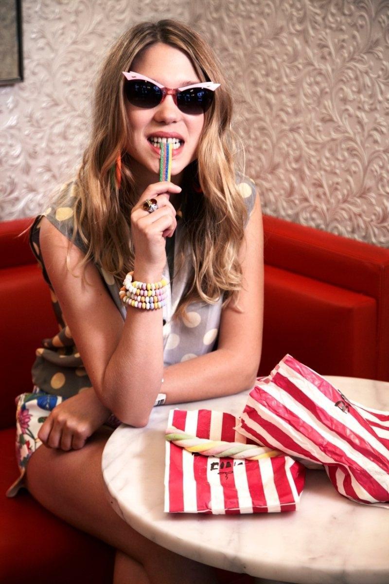 Lea Seydoux Eric Guillemain Style